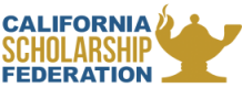 California Scholarship Federation logo