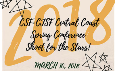 Central Coast Region Spring 2018 Conference