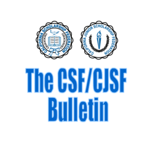 California Scholarship Federation Presidents Bulletin