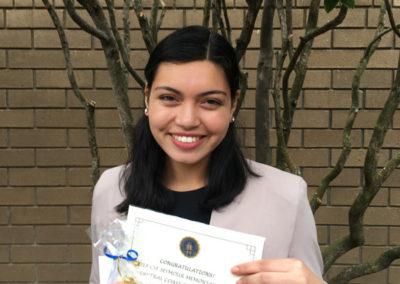 Brooke Alviar, Seymour Central Coast finalist 2017-18