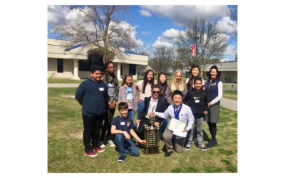 Cruickshank students are first middle school team to win the Quiz Bowl